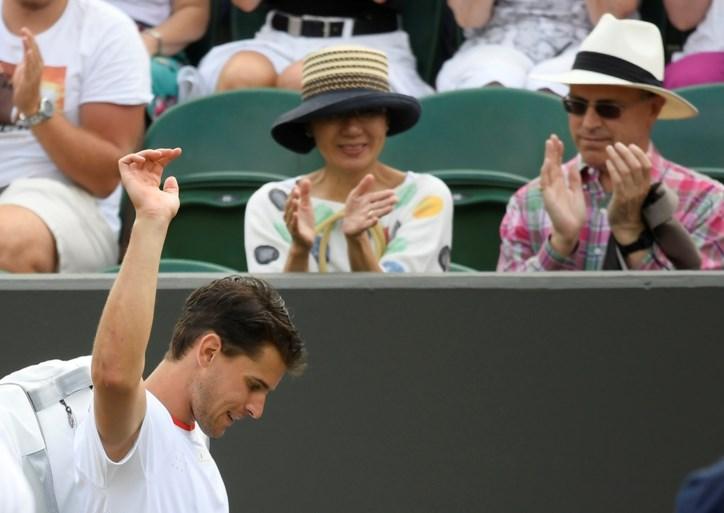 WIMBLEDON. Met Sharapova en Thiem liggen de eerste toppers er al uit