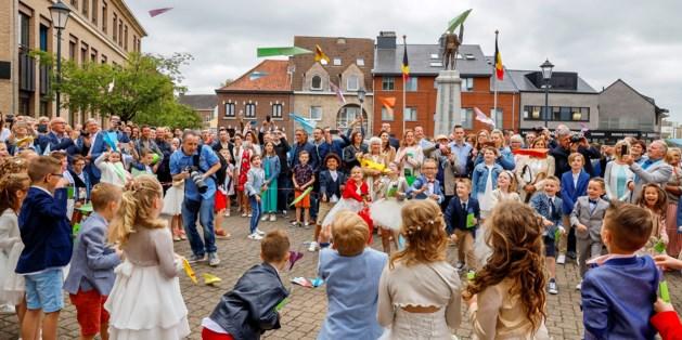 Eerstecommunicanten Wellen vieren feest met respect voor de natuur