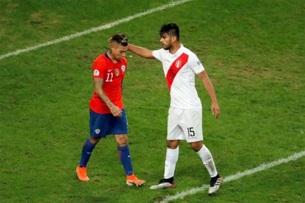Peru stunt en haalt finale Copa América, Chileen is schlemiel door onbegrijpelijke misser in blessuretijd