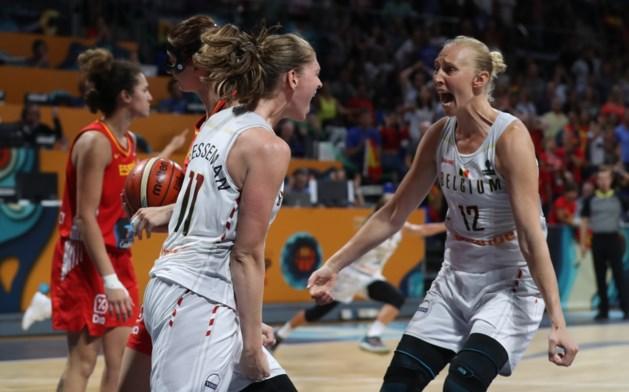 Spanje tweede halvefinalist bij EK Basketbal vrouwen, België treft bij winst Groot-Brittannië