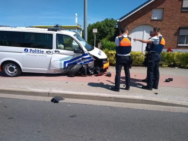 Politie-inspecteurs gewond bij ongeval
