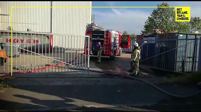 Brand bij Lommelse matrassenfabrikant