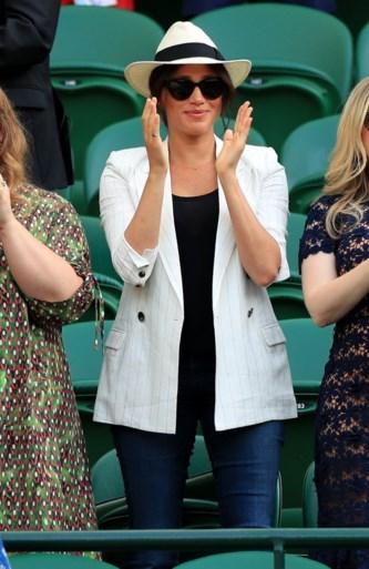 Meghan Markle duikt onverwacht op tijdens Wimbledon