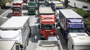 Druk op Vlaamse snelwegen door vakantiegangers