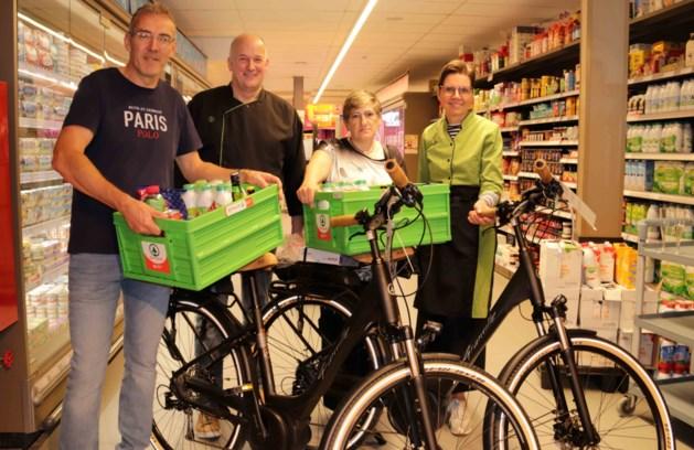 Marie-Rose en Stany winnen elektrische fiets bij Spar Schakkebroek