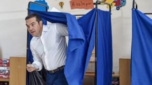 Verkiezingen Griekenland: uittredend premier Alexis Tsipras geeft nederlaag toe