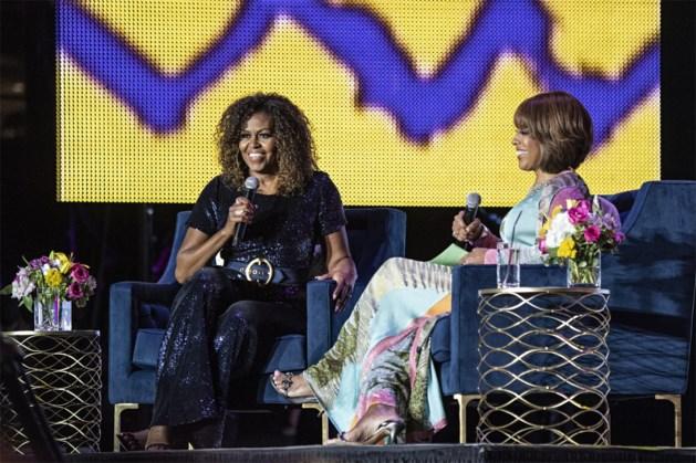 Michelle Obama heeft een totaal ander kapsel