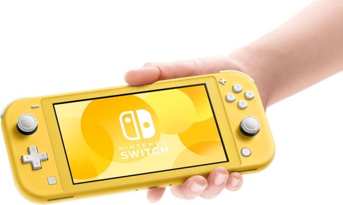 Nintendo mikt met nieuwe Switch Lite alleen nog op draagbaar gamen