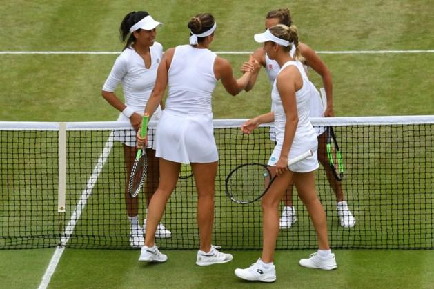 Elise Mertens grijpt naast halve finale in dubbelspel