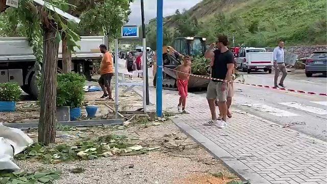 Limburgers getroffen door zware storm in Italië