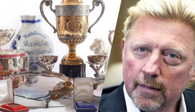 Spullen van tennislegende Boris Becker onder de hamer: topstuk levert 35.750 euro op