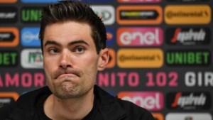 Na Tour wordt ook de Vuelta moeilijk voor Tom Dumoulin