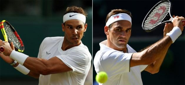 Clash Nadal-Federer volgt op Wimbledon vrijdag na halve finale van Djokovic