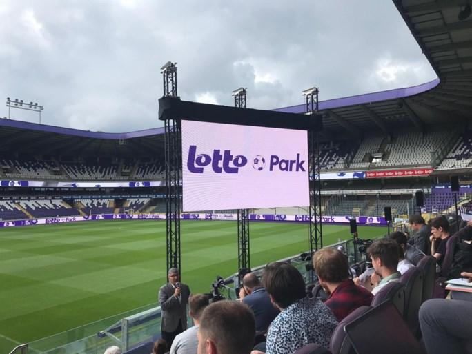 Anderlecht bevestigt: Constant Vanden Stockstadion wordt Lotto Park, bekijk hier de eerste beelden