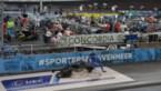 Italiaanse renner gespiest door losgekomen plank op piste in Gent
