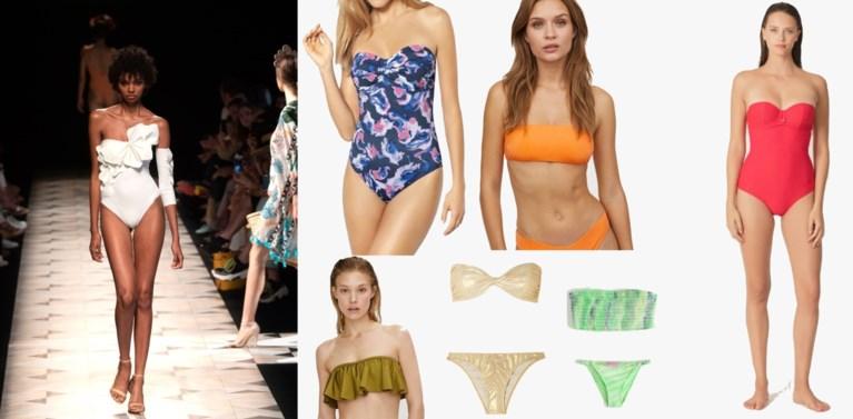 Met deze bikini's en badpakken schitter je aan het strand