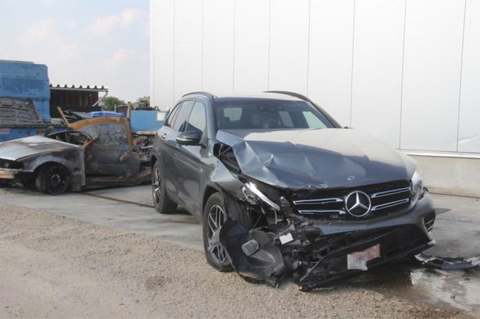 35-jarige met rijverbod enkele uren in cel na crash bij achtervolging