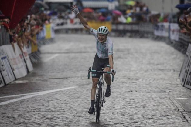 Britse Elizabeth Banks boekt eerste profzege in Giro Rosa, Annemiek van Vleuten blijft in het roze