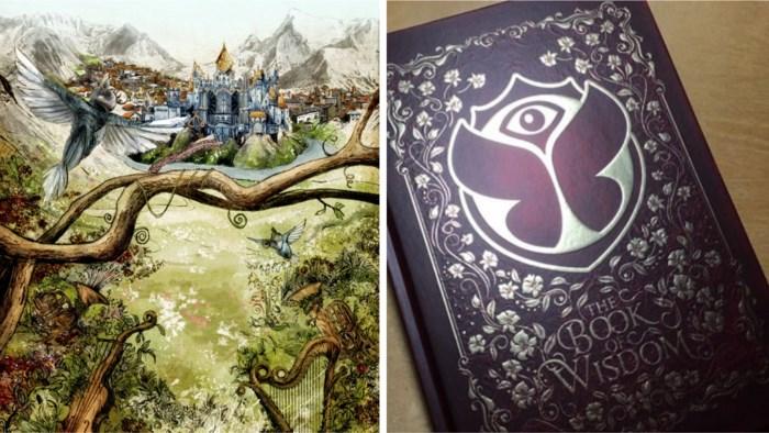 Riemstenaar illustreert allereerste Tomorrowland-boek