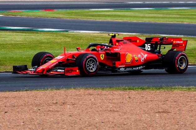 Ferrari het snelste tijdens laatste oefensessie GP van Groot-Brittannië