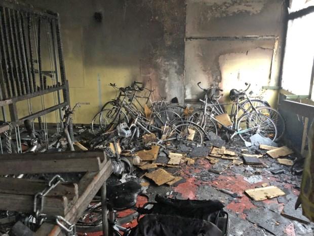 Brandstichters fietsenstalling Landen gevat: daders zijn twee minderjarigen?