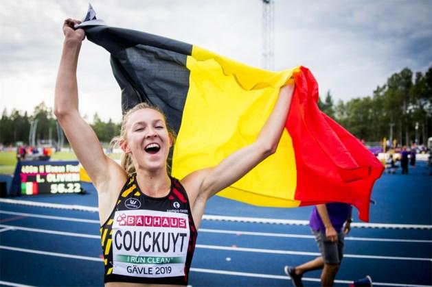 Goud voor België op EK atletiek voor beloften: Paulien Couckuyt wint razend spannende 400m horden