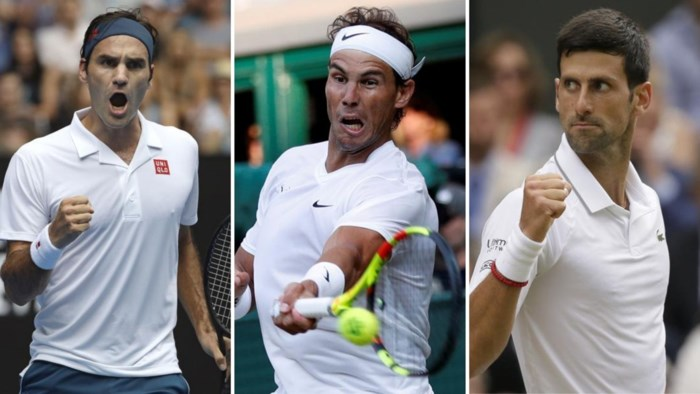Waarom dertigers Djokovic, Federer en Nadal het wereldtennis blijven domineren