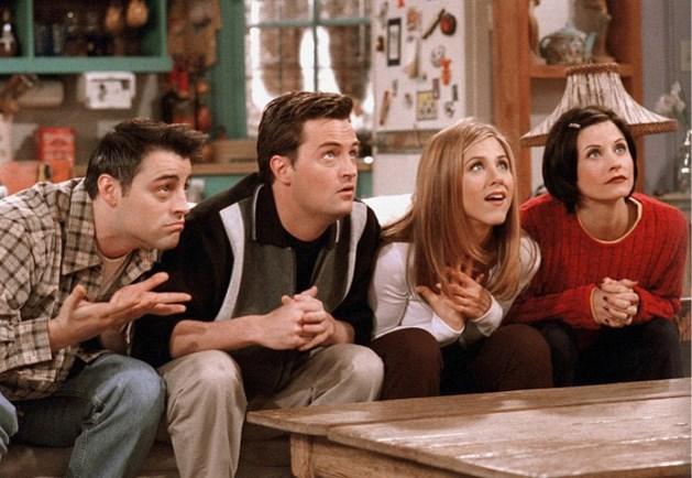 Er zit een meubelcollectie van de serie 'Friends' aan te komen