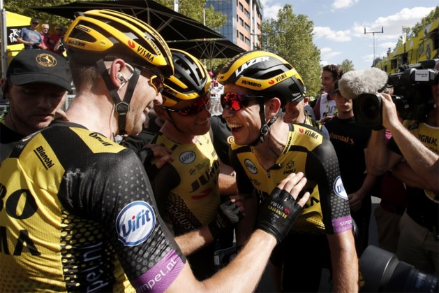 """Wout van Aert met mond vol tanden na ritzege in de Tour: """"Dit staat boven alles"""""""