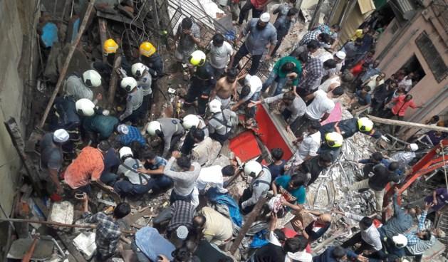Gebouw ingestort in Mumbai: vier doden en twaalf vermisten