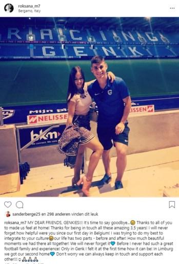 """Roksana neemt afscheid van Genk-fans: """"Limburg is onze tweede thuis"""""""