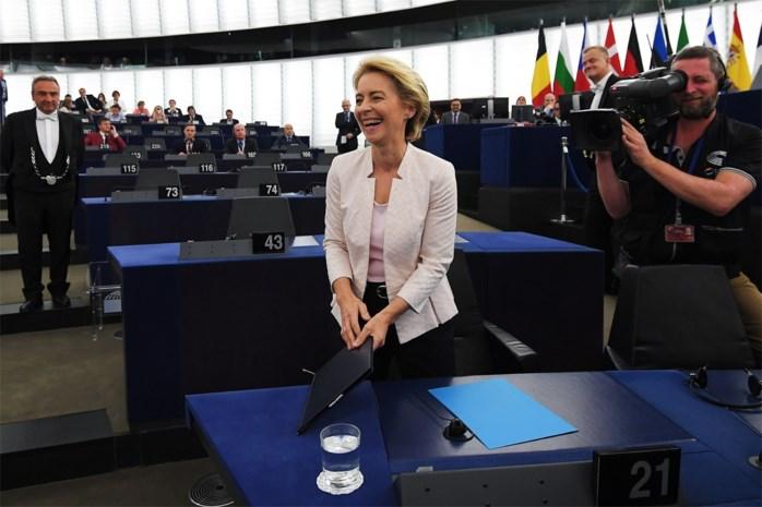 Moeder van zeven nipt verkozen tot eerste vrouw aan het hoofd van Europa