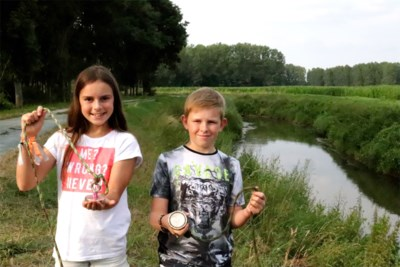 Magneetvissende kinderen vinden kluis van Halense ramkraak