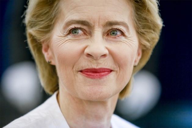 Europees Parlement verkiest Ursula von der Leyen nipt als nieuwe Commissievoorzitter