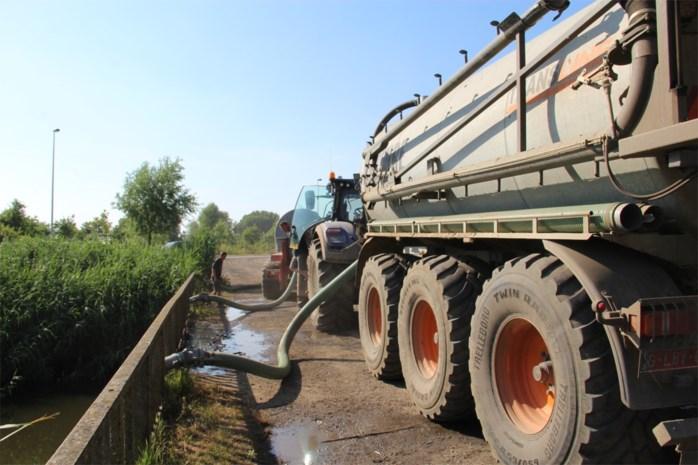 Water oppompen uit rivieren nu in bijna heel Limburg verboden