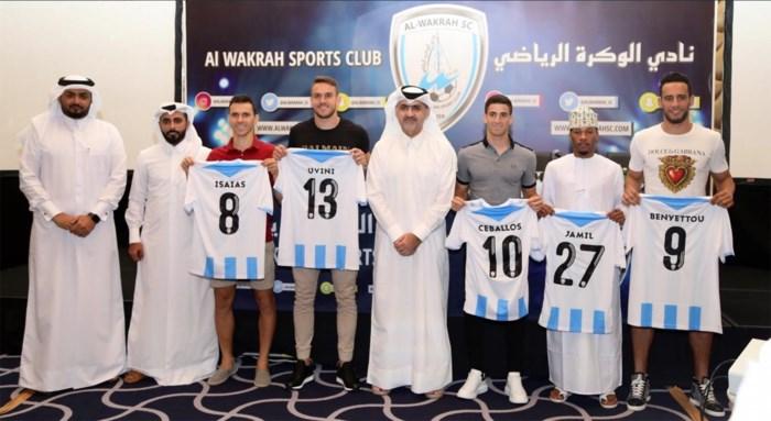 """Ex-Kanarie Cristian Ceballos in Qatar: """"Ik kon hier een lucratief contract tekenen"""""""
