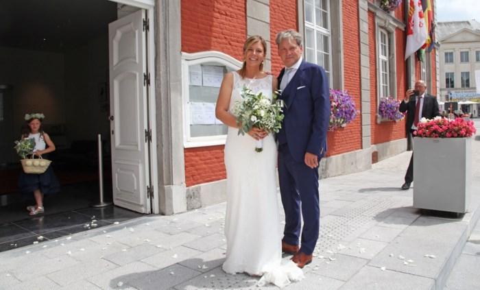 Jacky Mathijssen stapt in het huwelijksbootje met zijn Petra