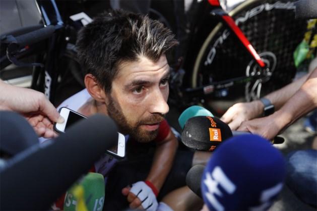 """Thomas De Gendt na knappe derde plek in tijdrit: """"Jammer voor Wout, maar ik denk dat ik hem sowieso geklopt zou hebben"""""""
