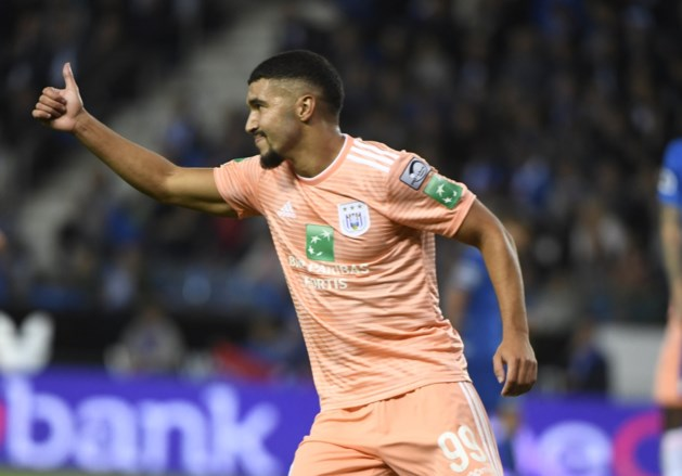 Anderlecht vier maanden zonder Zakaria Bakkali na operatie aan knie