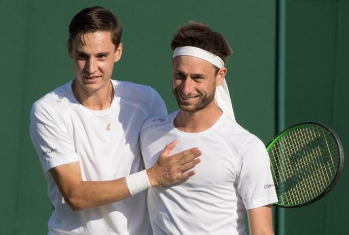 Gille en Vliegen halen eerste ATP-finale uit carrière