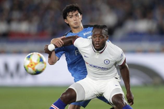 Michy Batshuayi lijdt met Chelsea in Japan eerste nederlaag van het seizoen