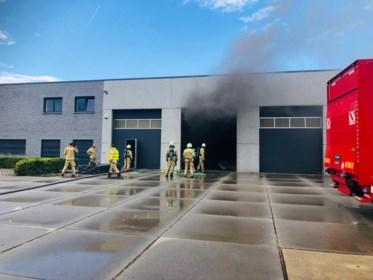 Brand ontstaan in lasermachine van kunststofbedrijf