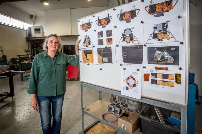 Dit bedrijf bouwt twee levensgrote replica's van de maanlander