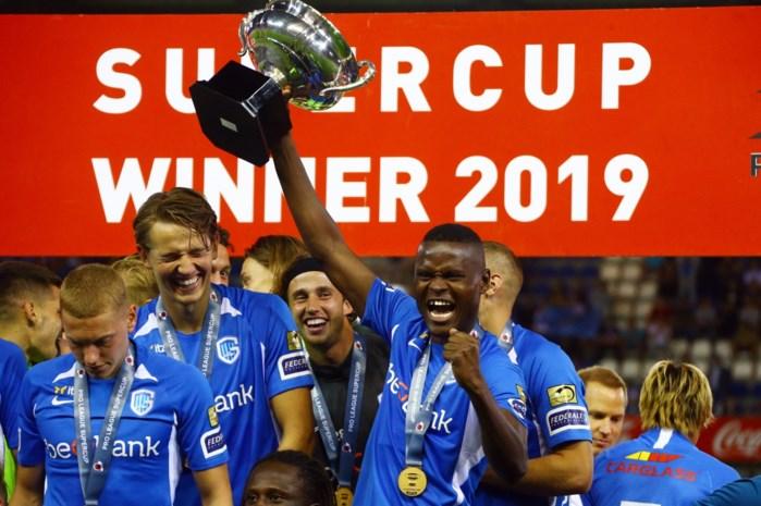KRC Genk grijpt Supercup na vlotte zege tegen KV Mechelen