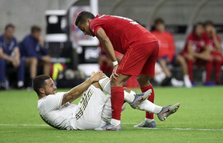 Hazard debuteert met 3-1-nederlaag, maar is zelf het lichtpunt bij Real