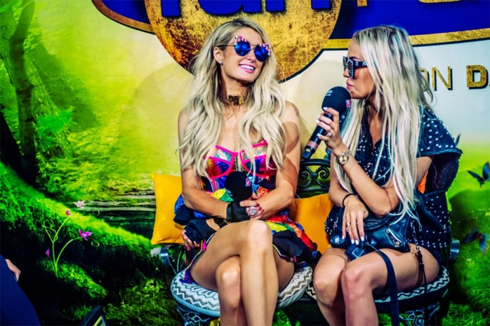 "Paris Hilton en Limburgse ""sis"" Anouk Matton lanceren single op Tomorrowland"
