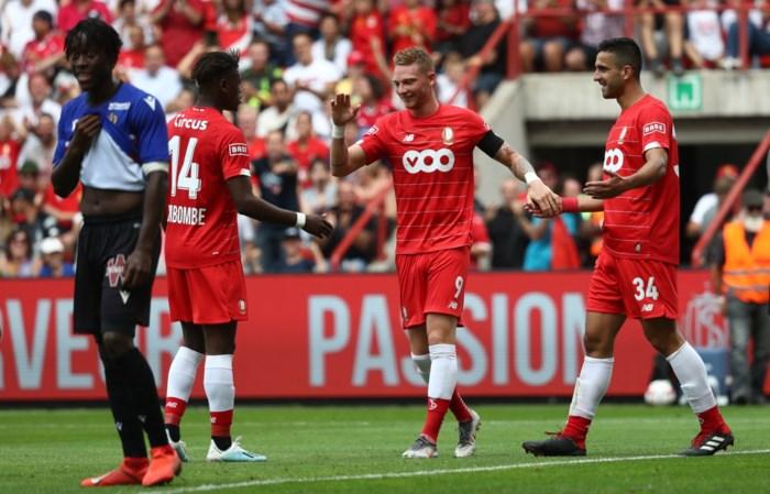 Own-goal Dante helpt Standard aan zege in galamatch
