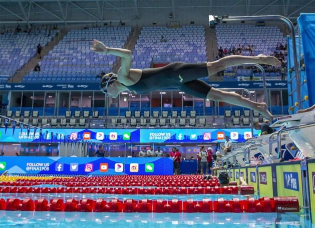 Fanny Lecluyse met Belgisch record naar halve finales 100 meter schoolslag op WK zwemmen