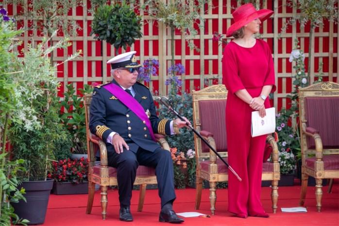 Prins Laurent heeft zich op de nationale feestdag behoorlijk misdragen