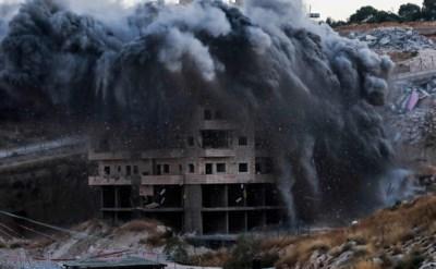 Israël zegt twaalf Palestijnse gebouwen nabij Jeruzalem vernield te hebben
